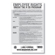 Employee Rights under the H-2B Program Poster