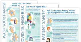 NEW: COVID-19 Safety Posters for Healthcare Facilities